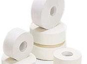 Mini jumbo toilet rolls 2ply x 12 pack