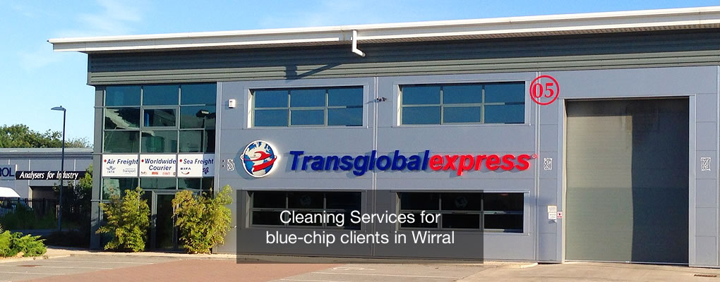 cleaning services transglobal express offices wirral