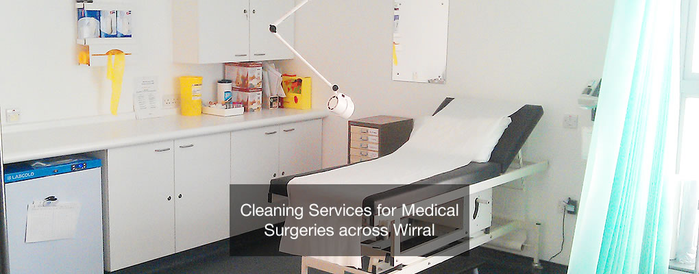 wirral medical surgeries cleaning