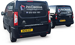 procleanse vans working