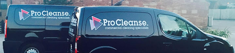 procleanse black vans logo white